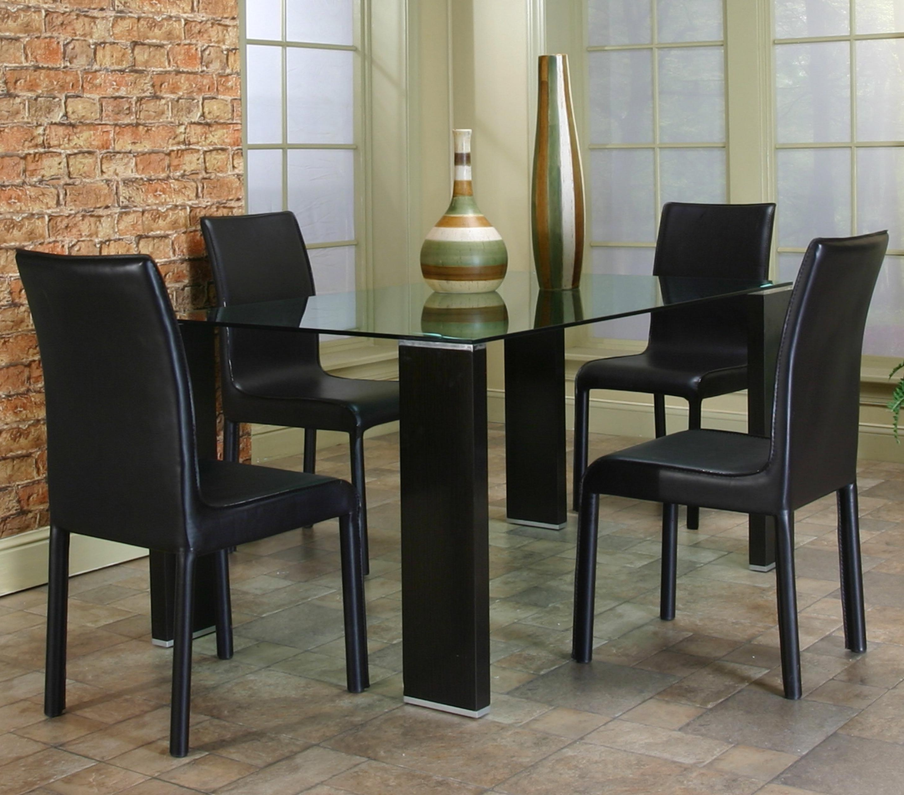 Current Square Black Glass Dining Tables Within Remarkable Glass Topped Dining Tables Designedsquare Transparent (View 13 of 25)