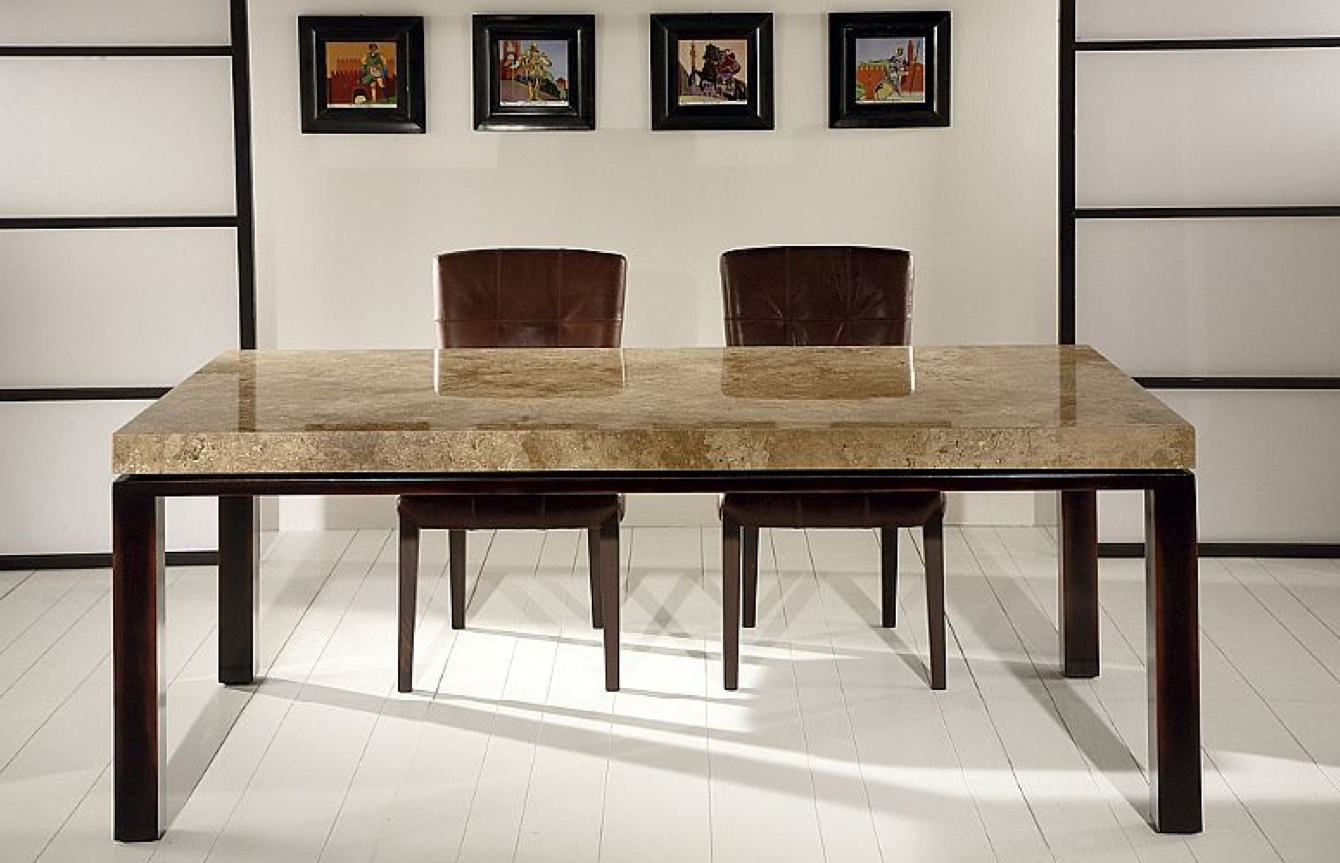 Current Stone International Dining Table 0476 Pertaining To Stone Dining Tables (Gallery 3 of 25)