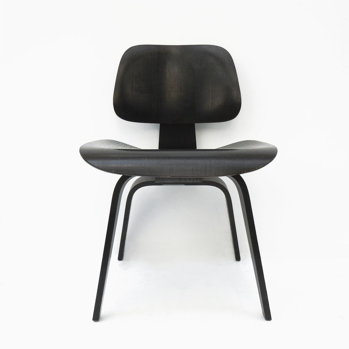 Current Vintage Dcw Black Dining Chaircharles & Ray Eames For Herman With Regard To Black Dining Chairs (View 20 of 25)