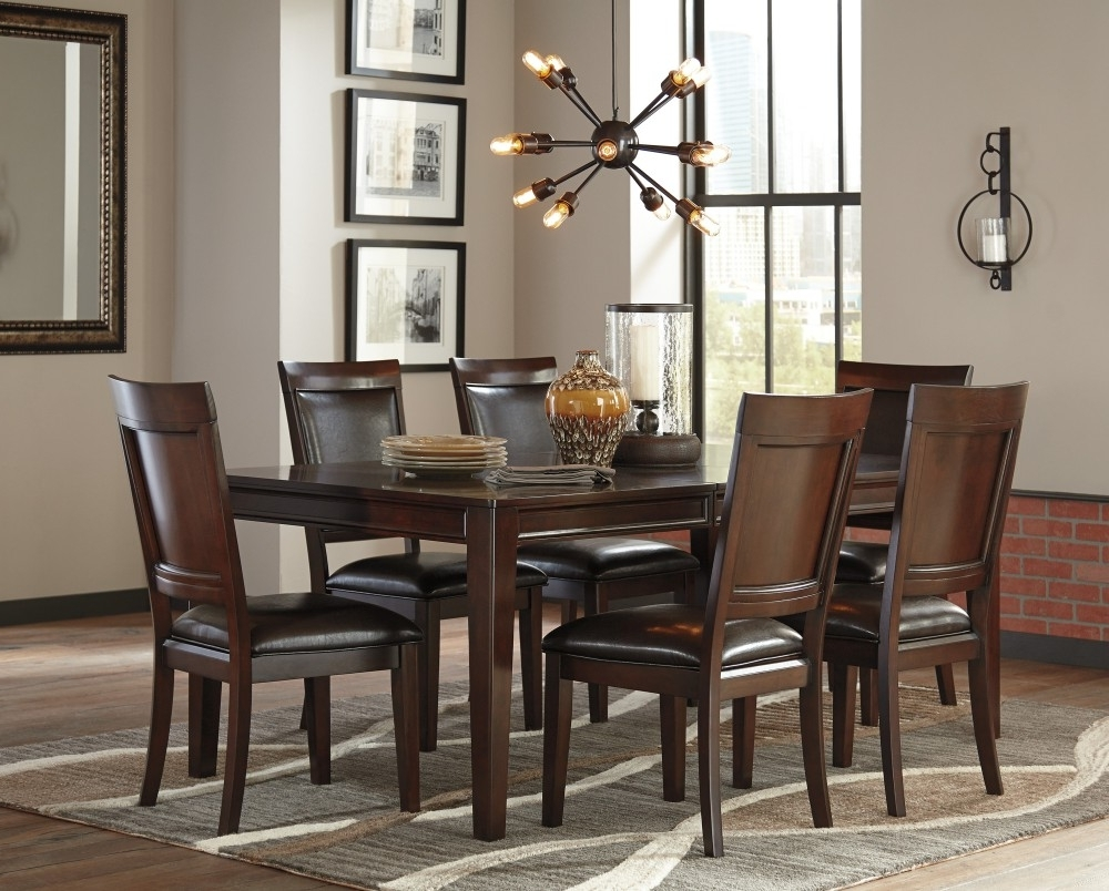 D471/35/01(6 Inside Market 6 Piece Dining Sets With Side Chairs (Gallery 12 of 25)