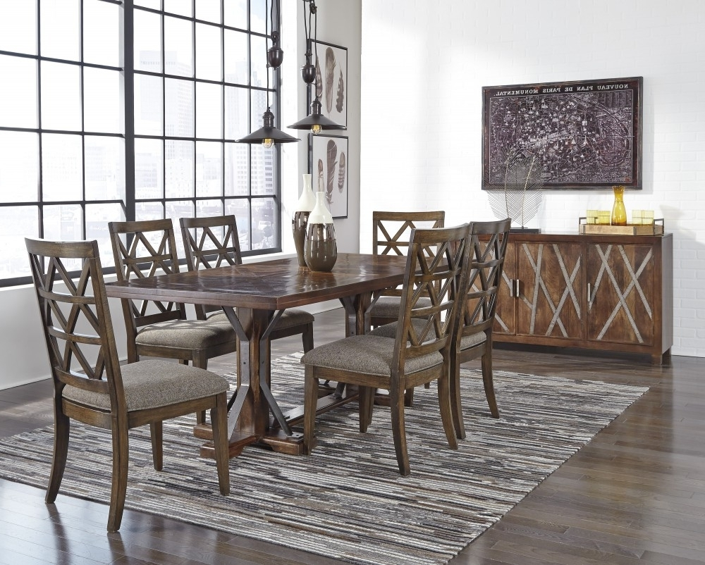D687 Inside Market 6 Piece Dining Sets With Side Chairs (View 3 of 25)