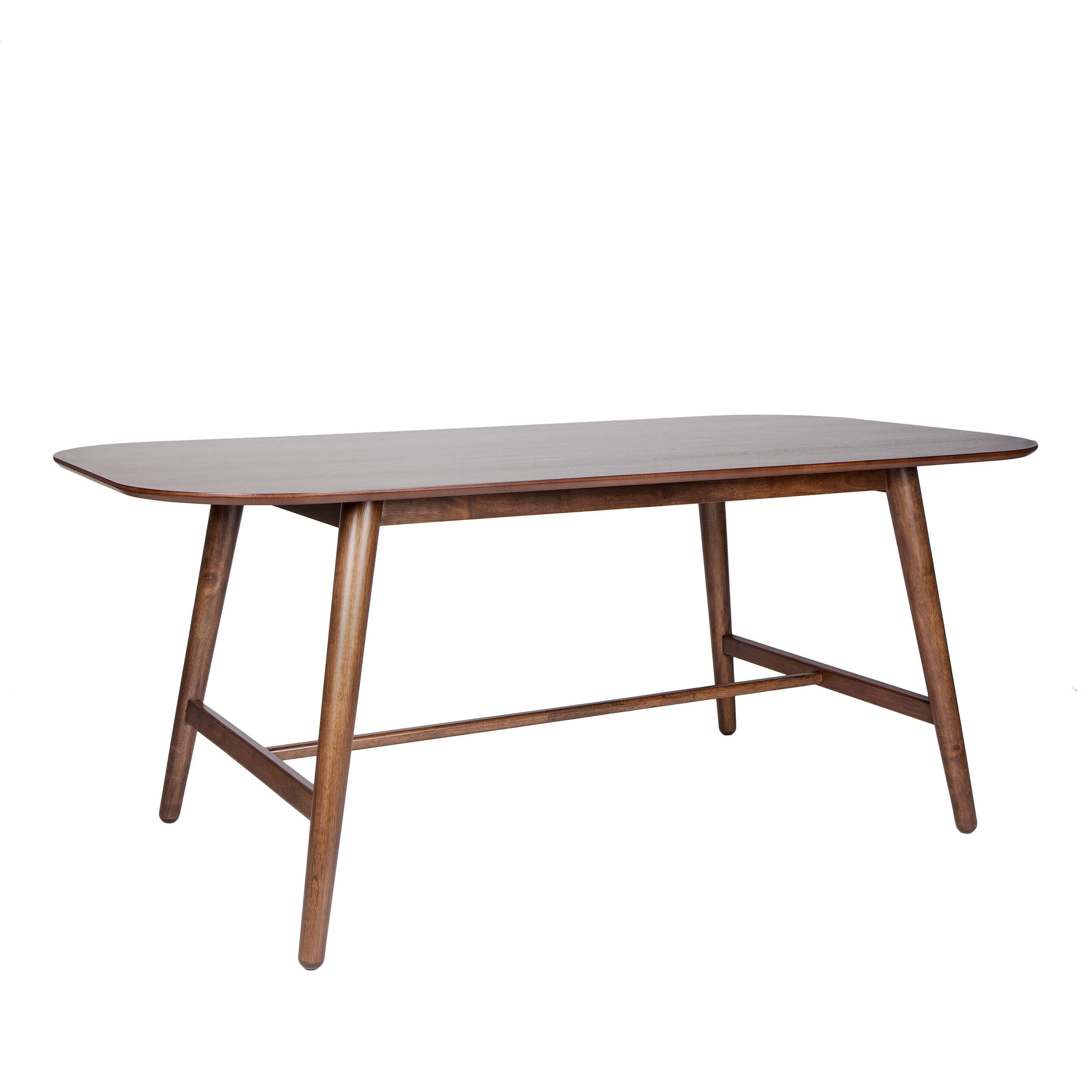 Danish Dining Tables intended for Most Recent Danish Dining Table With Rounded Corners - Monty