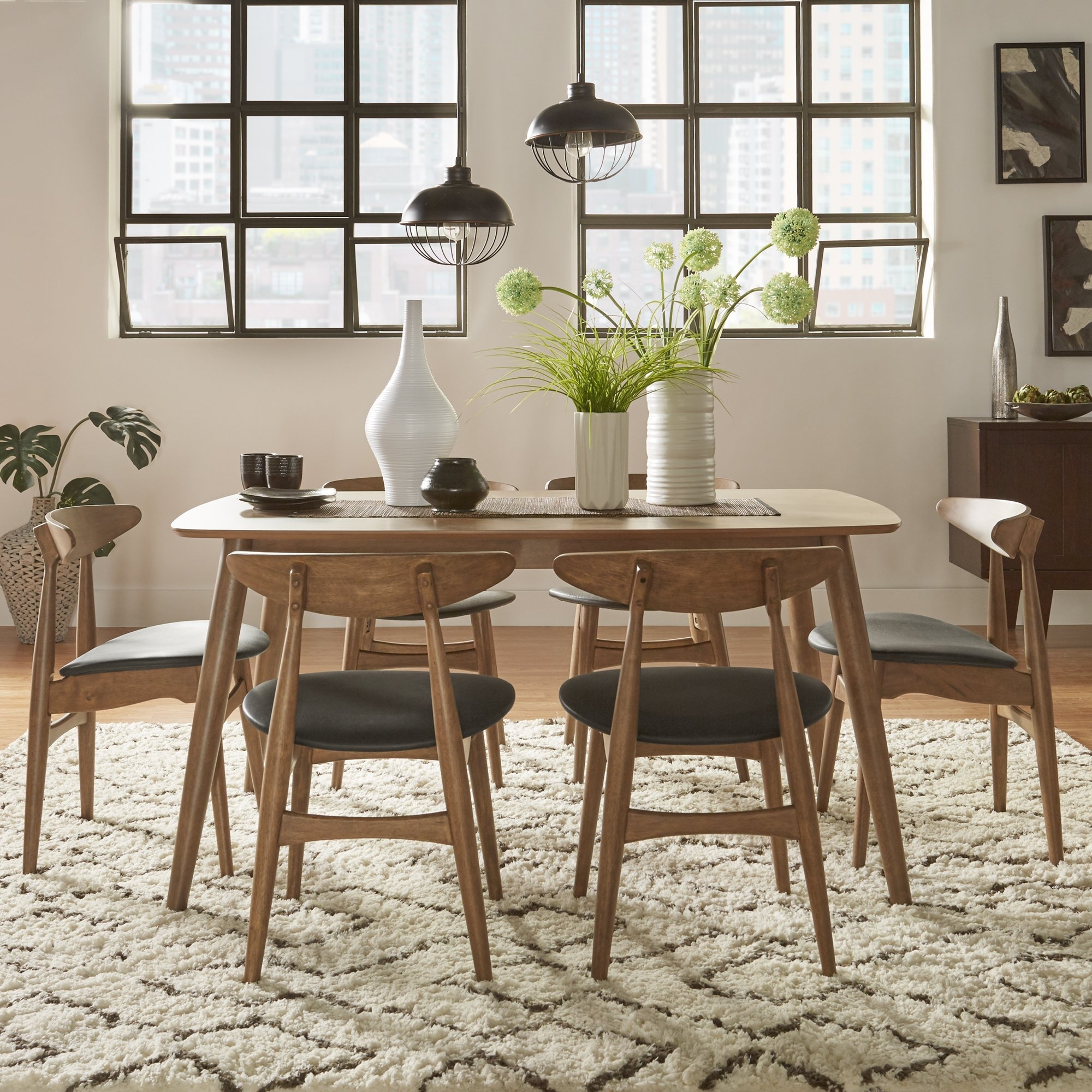Danish Dining Tables Pertaining To Well Liked Shop Norwegian Danish Modern Chestnut Tapered Dining Setinspire (View 8 of 25)
