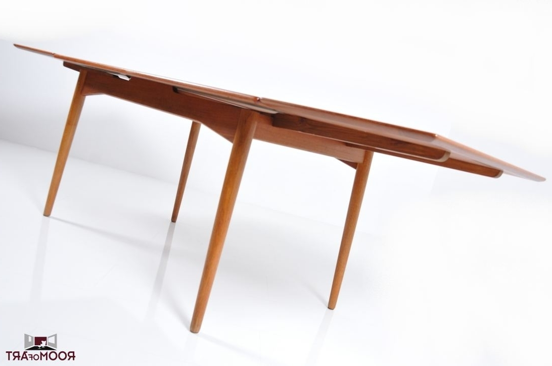 Danish Dining Tables With Regard To Well Liked Early Danish Dining Tableomann Junior – Room Of Art (View 5 of 25)
