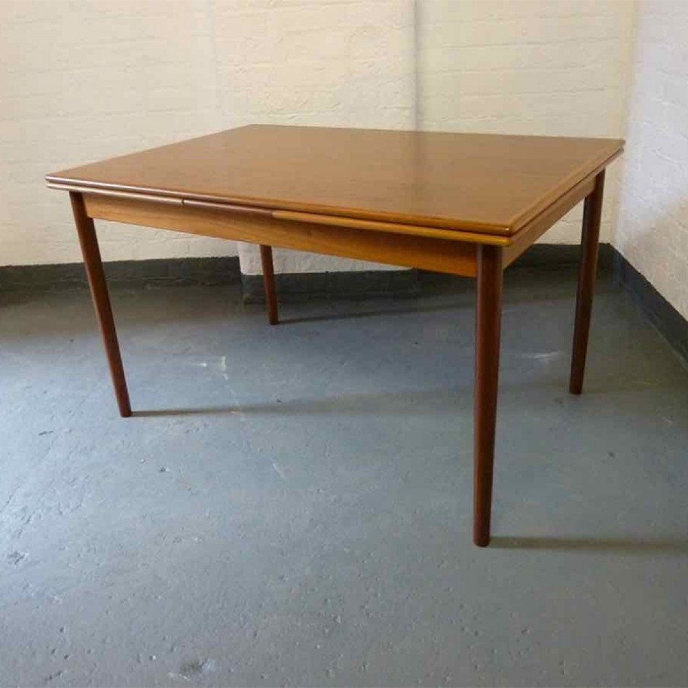 Danish Retro Extending Dining Table (Gallery 14 of 25)