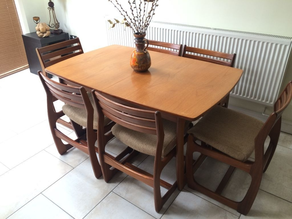 Danish Style Dining Tables Regarding Well Liked Retro Portwood Furniture 1960's/70's Danish Style Extendable Teak (View 5 of 25)