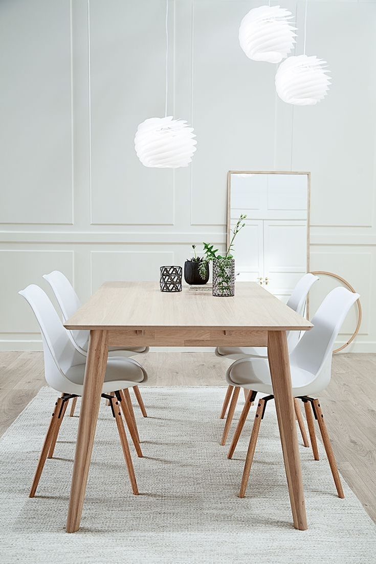 Danish Style Dining Tables With Preferred Get The Look With Our Scandinavian Dining Table In Solid Ash Wood (Gallery 10 of 25)