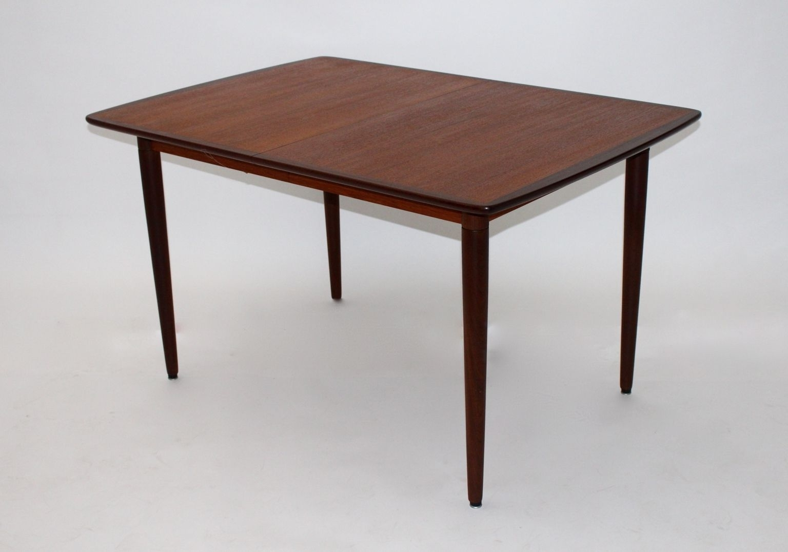 Danish Teak, Rosewood, And Ash Rectangular Extending Dining Table With Regard To Trendy Lassen 7 Piece Extension Rectangle Dining Sets (View 4 of 25)