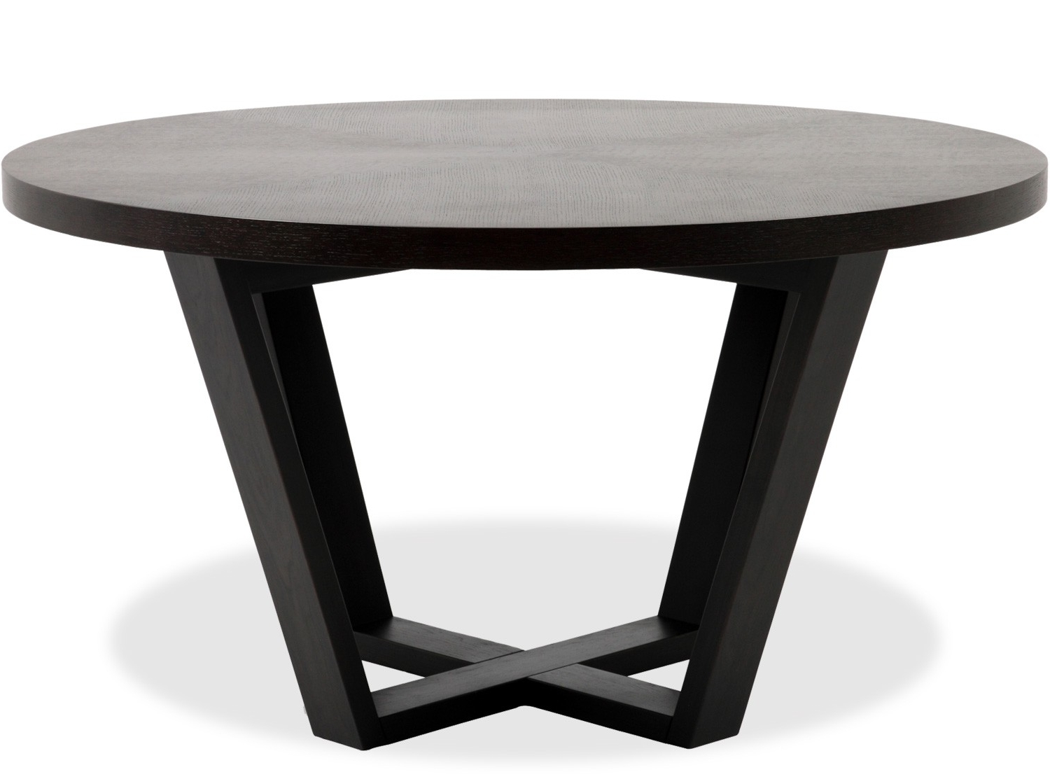 Dark Round Dining Tables Regarding Popular Dining Tables: Outstanding Round Black Dining Table Black Table (View 7 of 25)