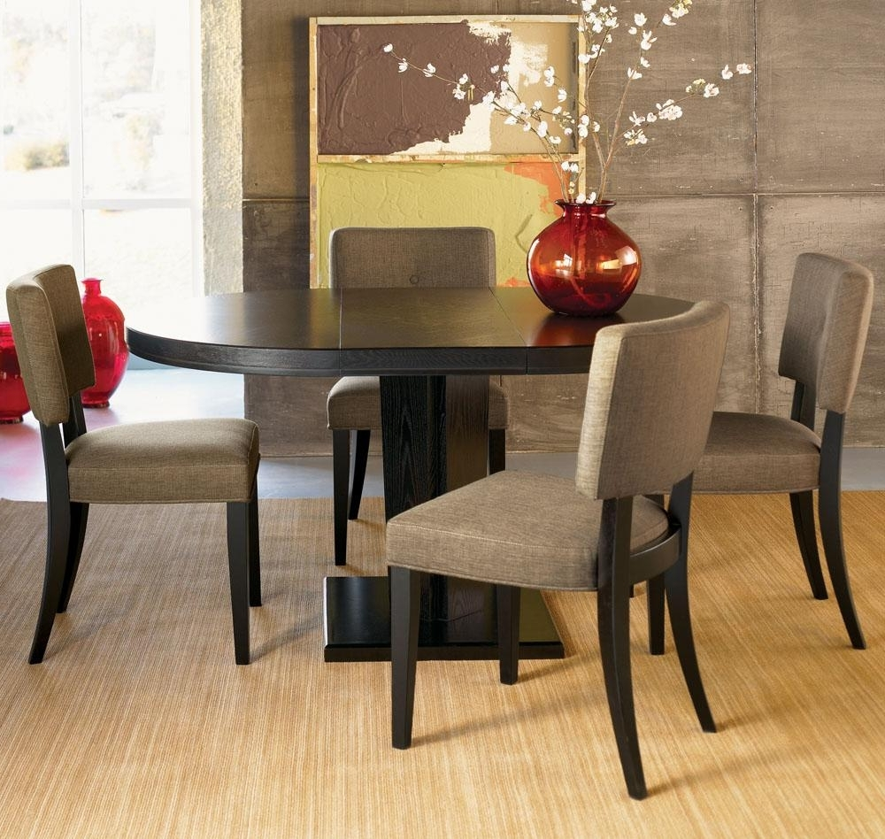 Dark Wood Dining Tables And Chairs Within Fashionable Dining Room Handcrafted Wooden Dining Tables Dark Wood Dining Table (View 16 of 25)
