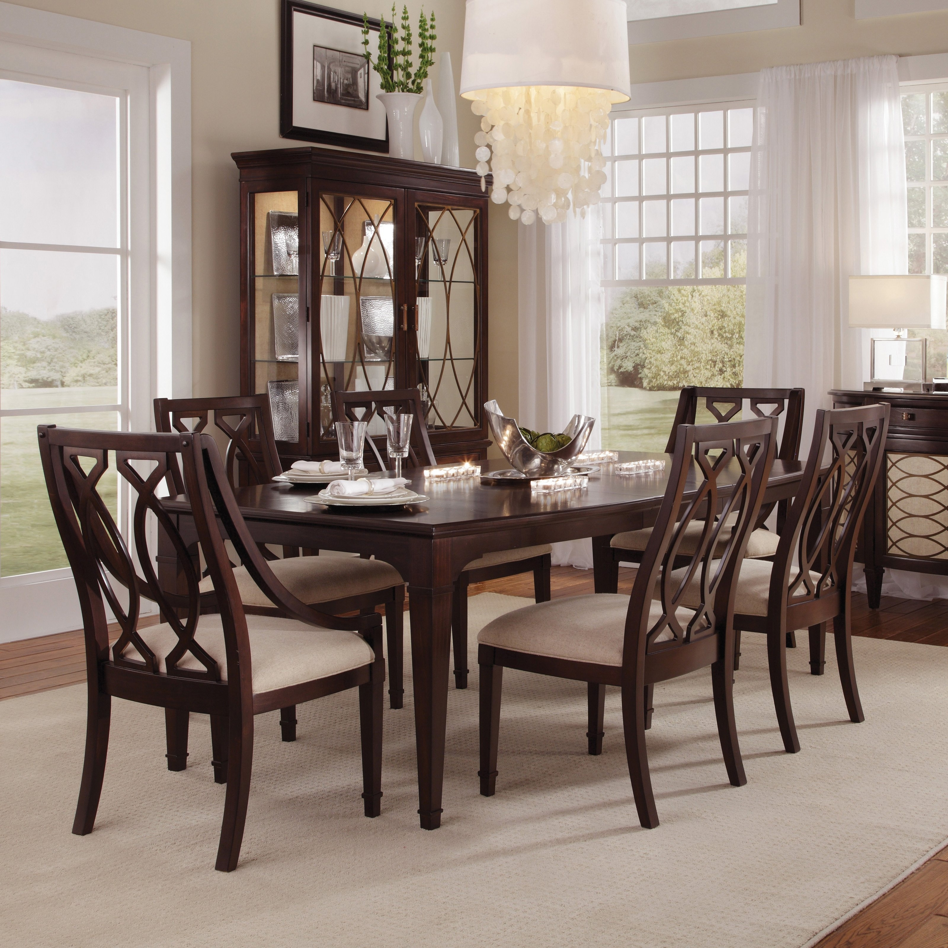 Dark Wood Dining Tables within Most Popular Best Popular Mango Wood Dining Table Home Decor With Additional Dark