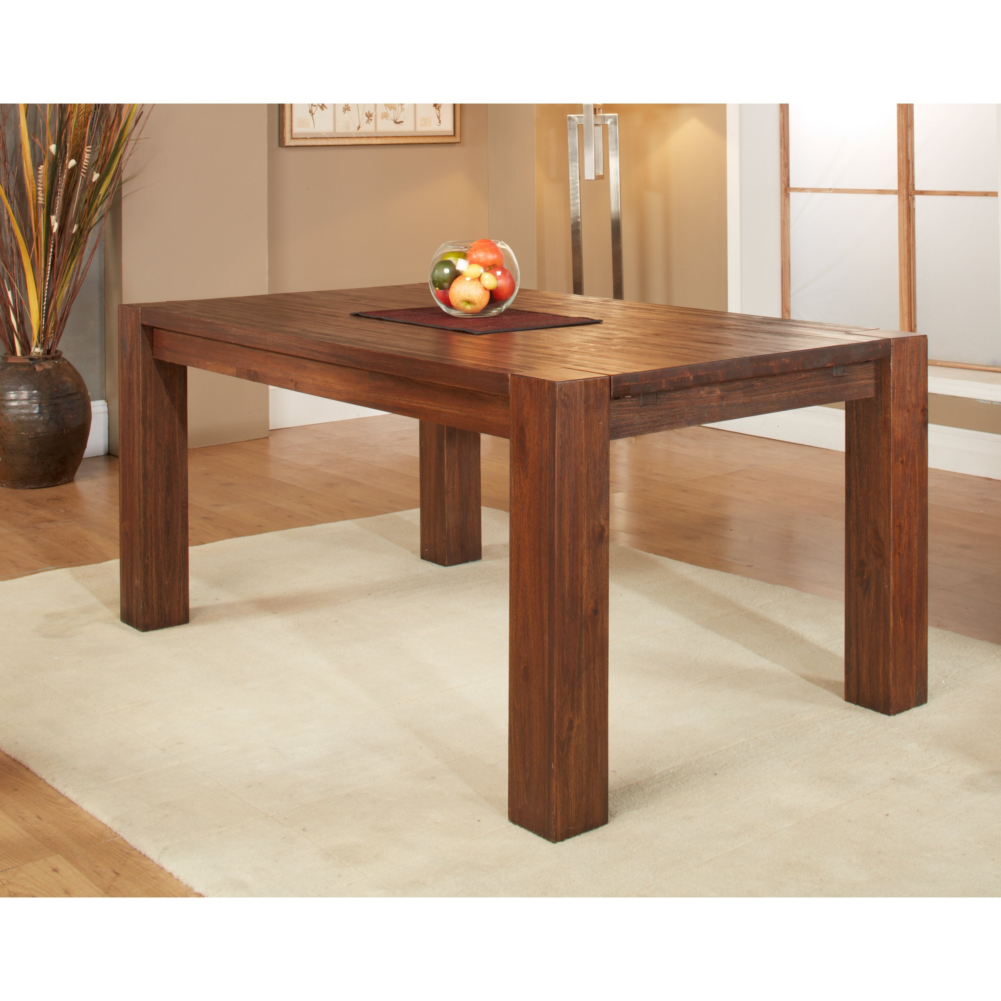Dark Wood Extending Dining Tables Pertaining To Newest Expanding Dining Table – Inspirational Home Interior Design Ideas (View 21 of 25)