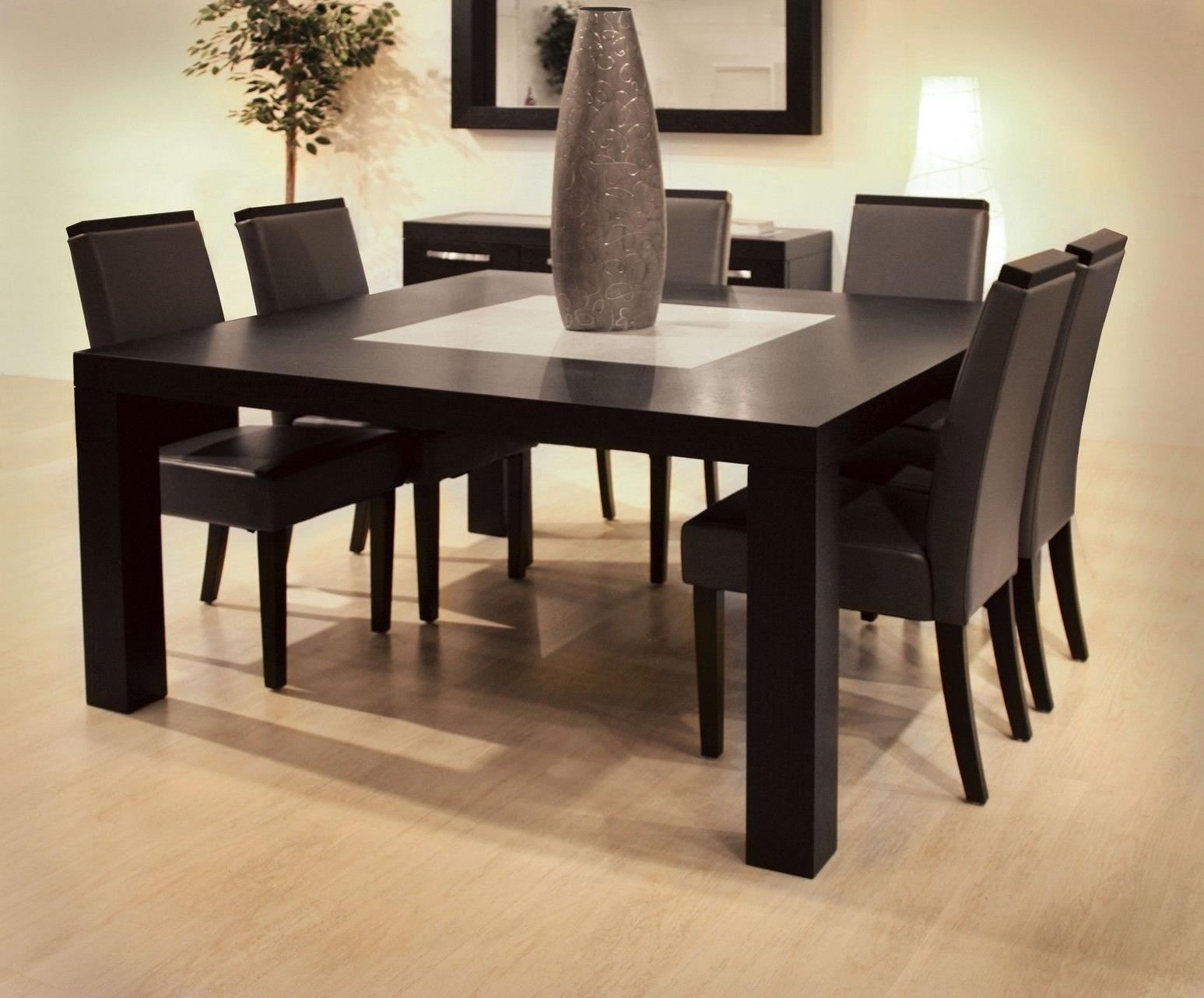 Dark Wood Square Dining Tables With Regard To 2017 Finding The Perfect Kitchen Table For Your Needs – Kitchen Ideas (Gallery 5 of 25)