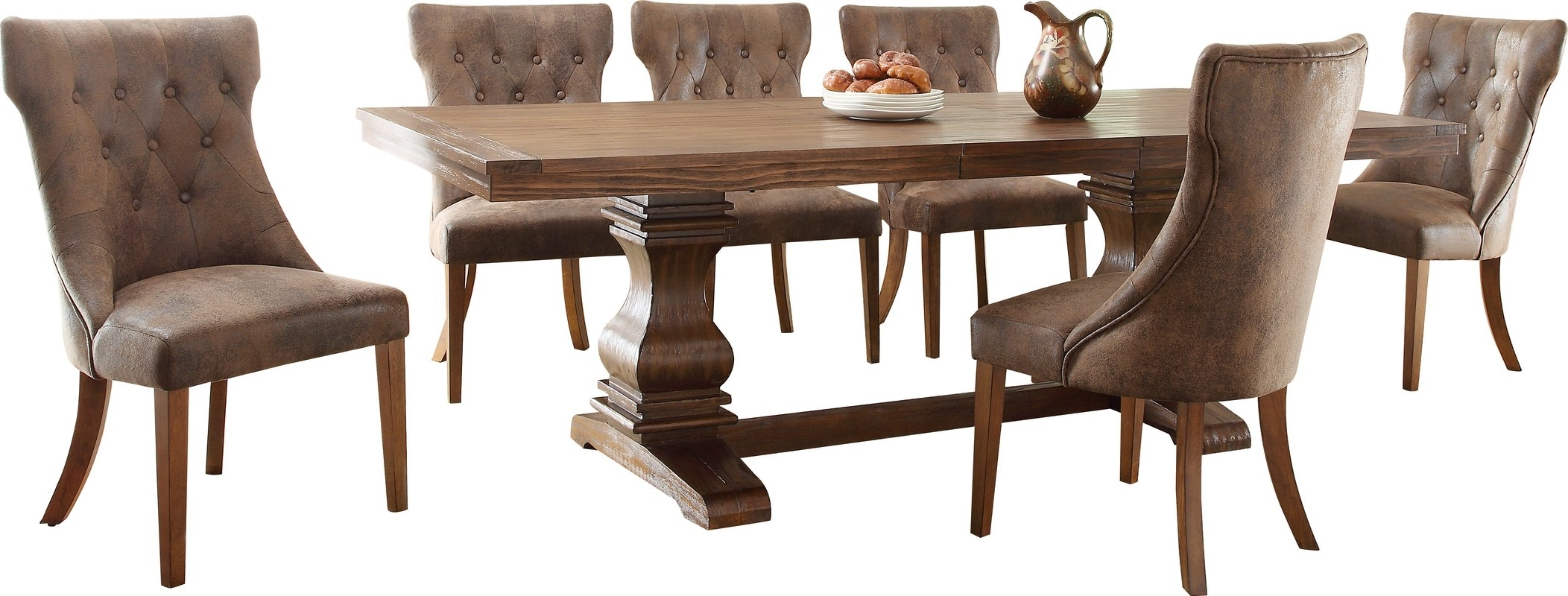 Dark Wooden Dining Tables regarding Most Popular Selecting Dark Wood Round Dining Tables - Home Decor Ideas
