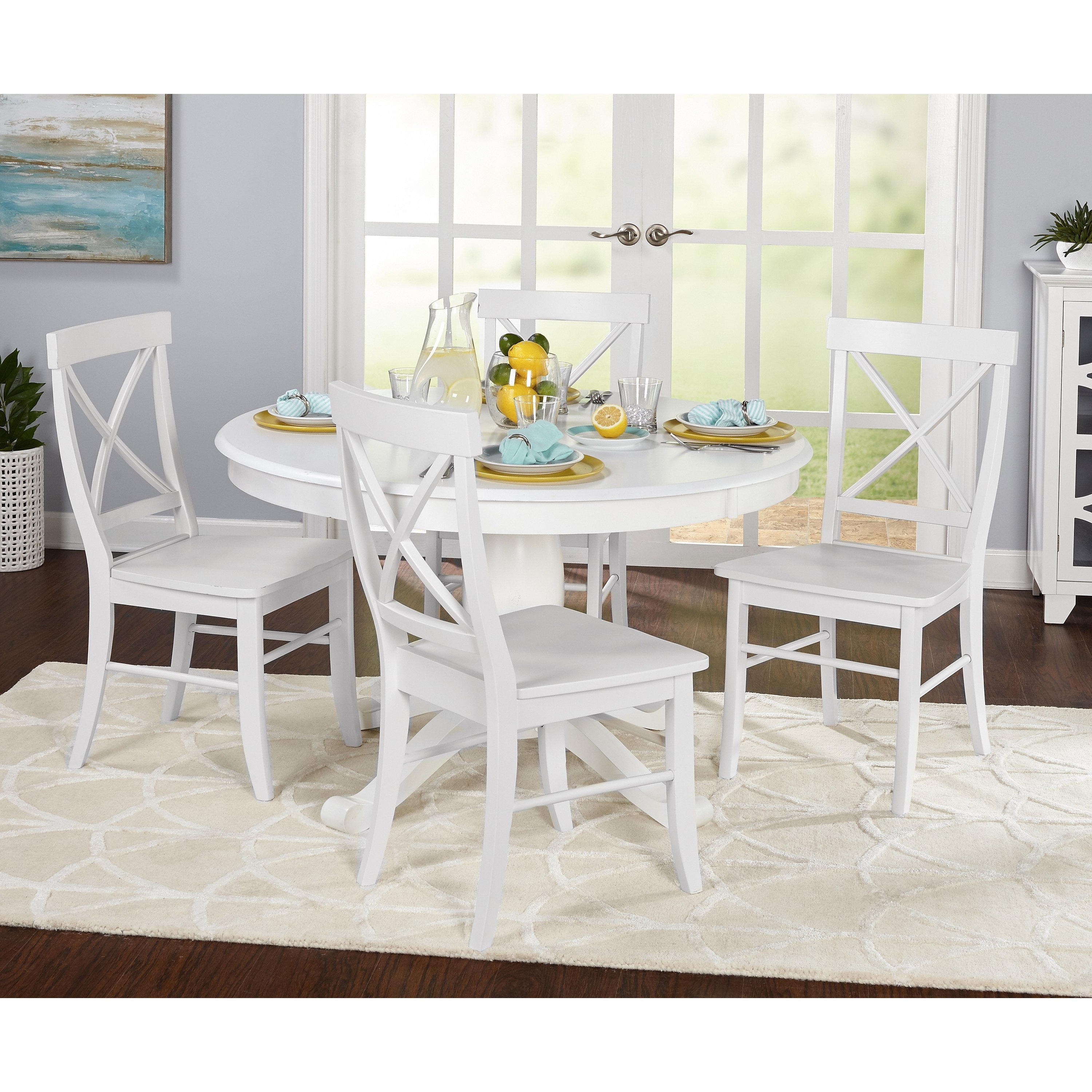 Dawson Dining Tables With Well Known Shop Simple Living 5 Piece Dawson Dining Set – Free Shipping Today (View 6 of 25)