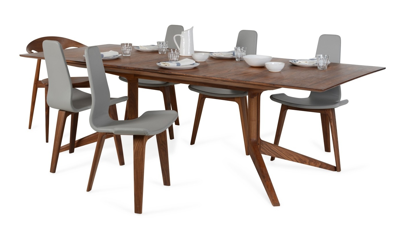 De La Espada Light Extending Dining Table (View 22 of 25)