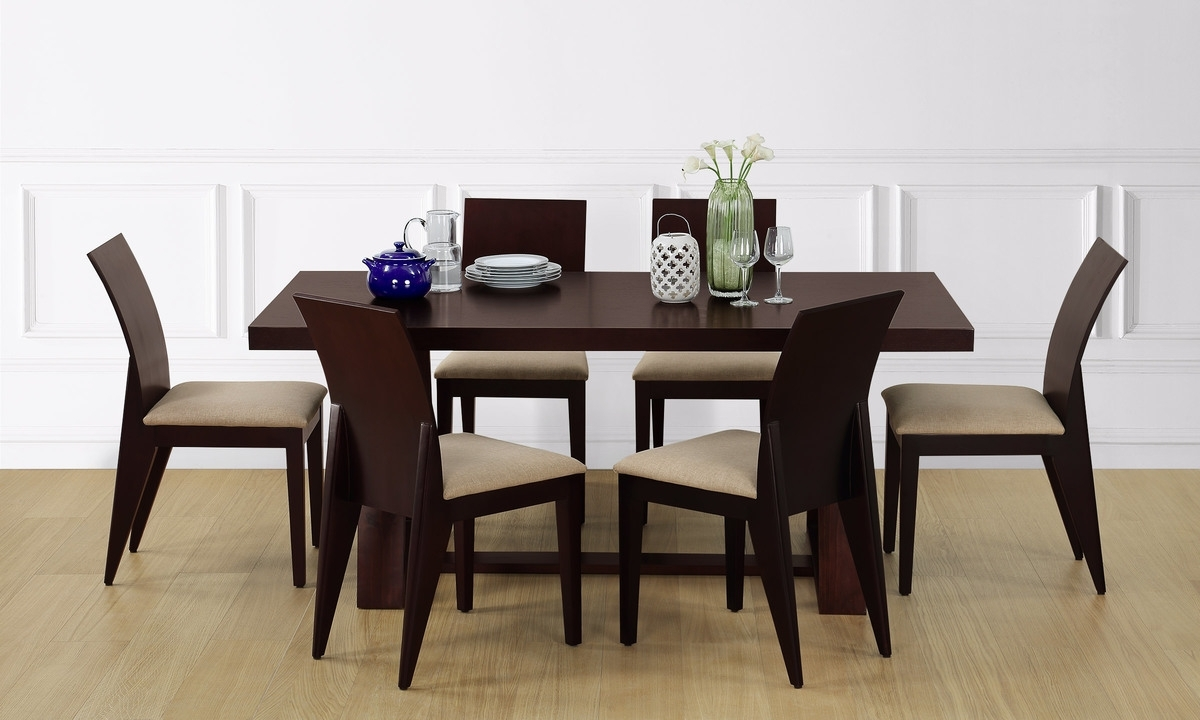 Decorating Nice Dining Table Set 6 Seater Round Room Sets For Home Within Most Recent Round 6 Seater Dining Tables (View 14 of 25)
