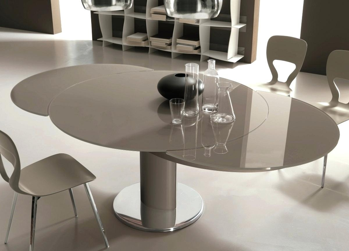 Decoration: Extending Round Dining Tables In Current Extending Round Dining Tables (Gallery 20 of 25)