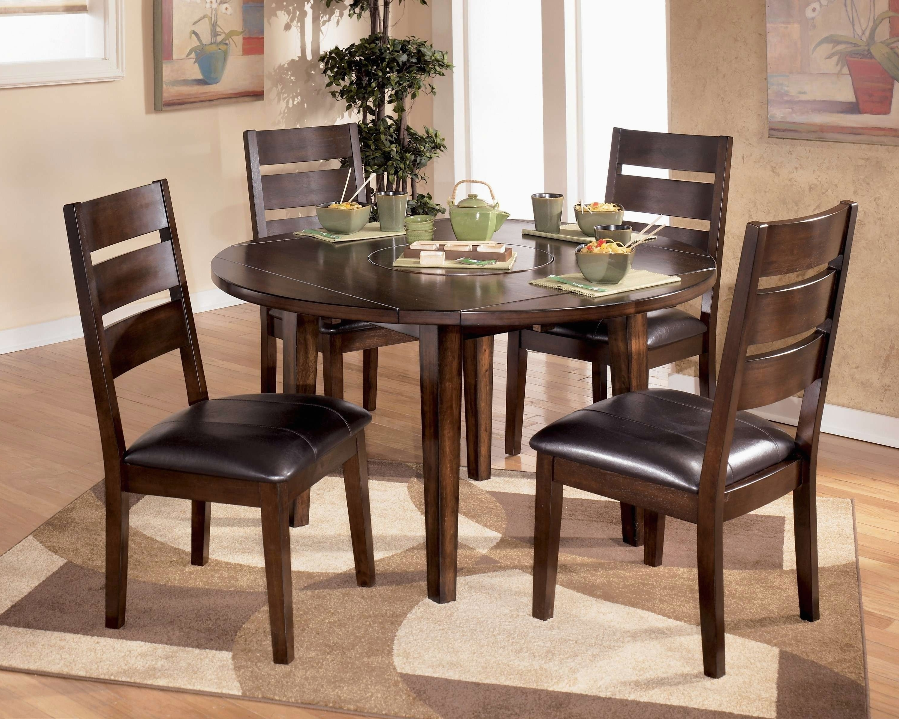 Decorative Oriental Dining Room Set In 6 Chair Round Dining Table Regarding Most Popular Asian Dining Tables (View 7 of 25)