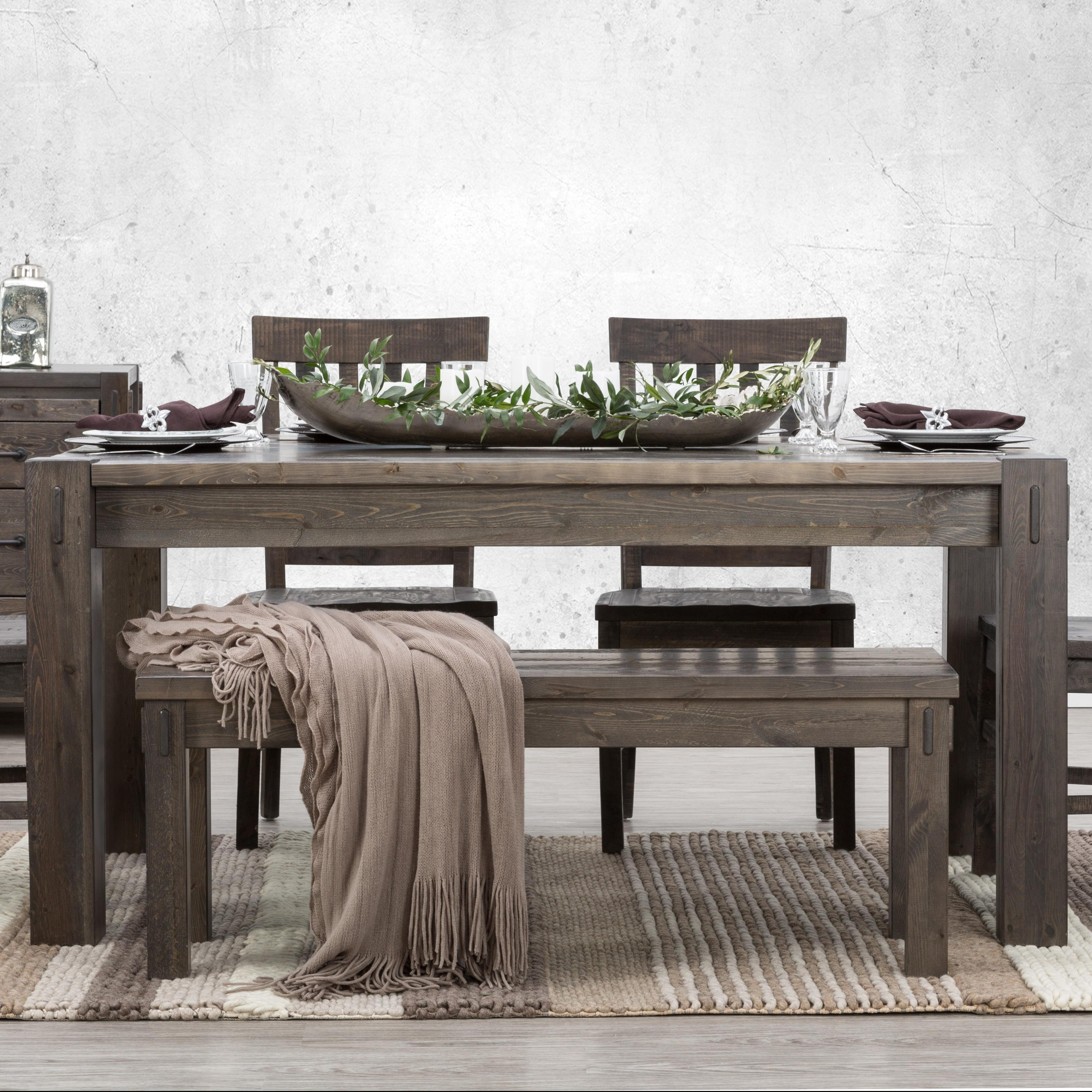 Defehr Stockton Rectangular Dining Table With Block Legs (View 6 of 25)