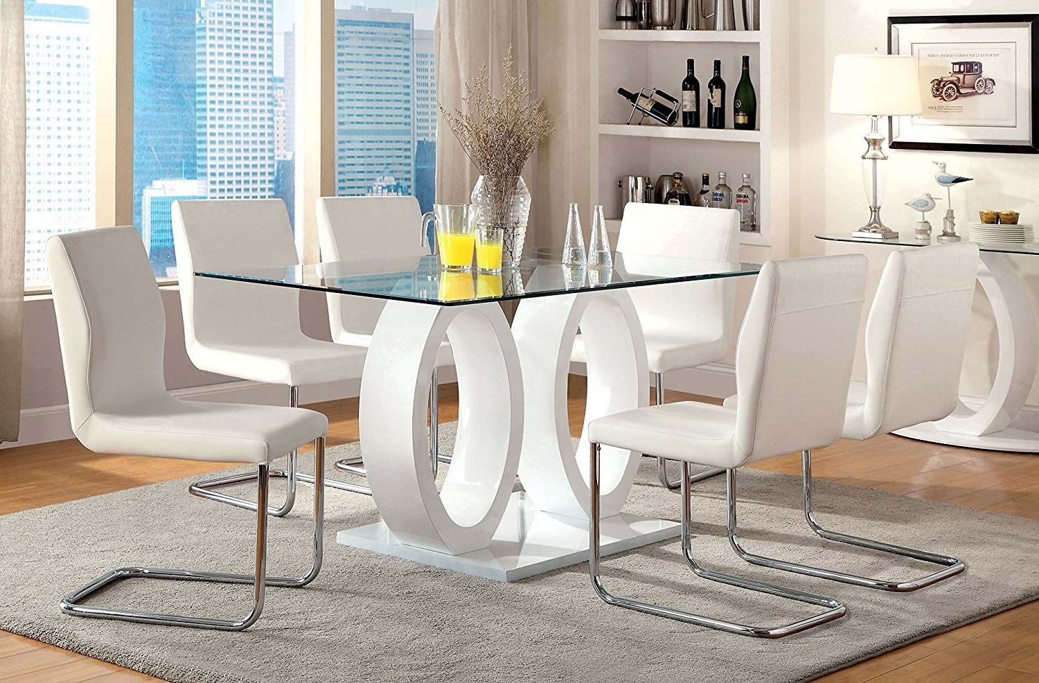 Delfina 7 Piece Dining Sets With Current Chair Lewis Table Sets Top Ideas Decor Tables Tops Chairs Round John (View 10 of 25)