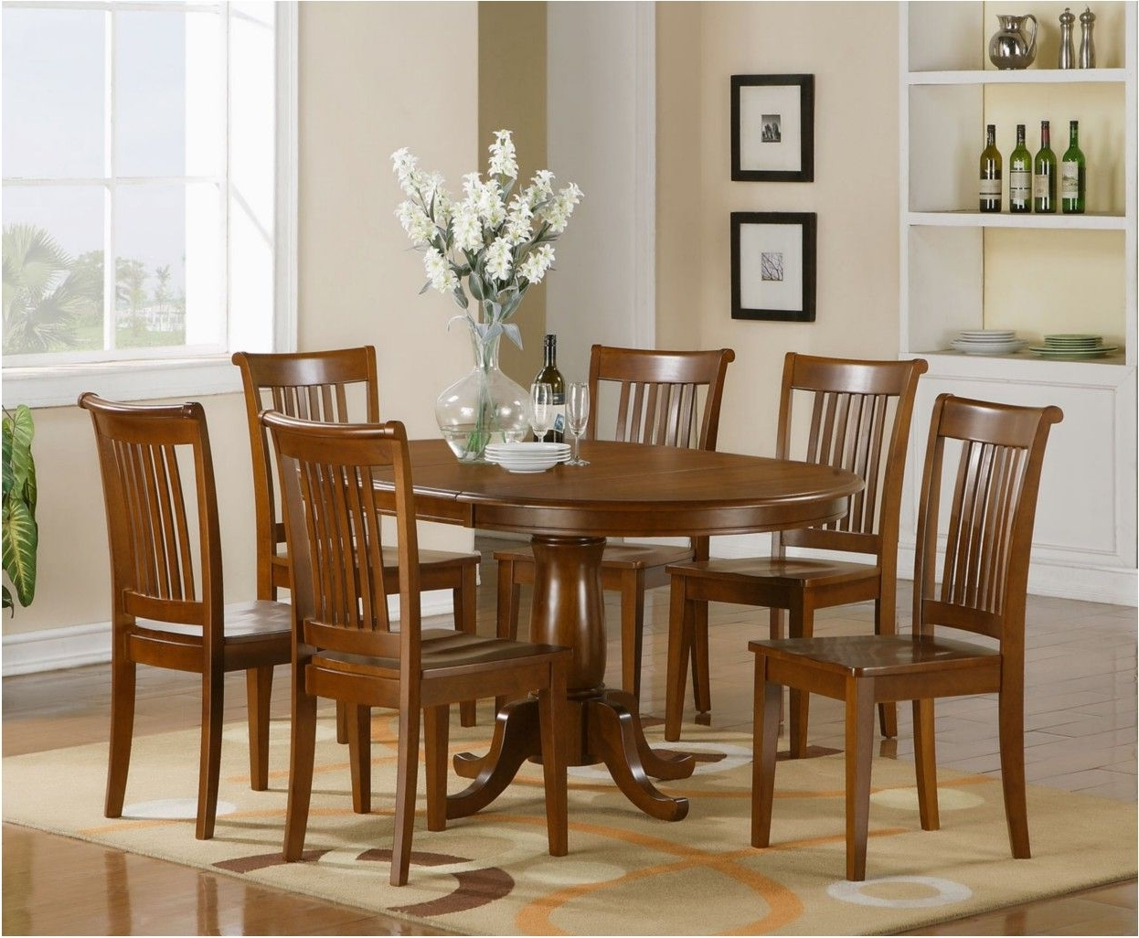 Delightful Dining Room Chair Sets 6 Dining Room Decor Ideas And Throughout Popular Dining Table Sets With 6 Chairs (View 7 of 25)