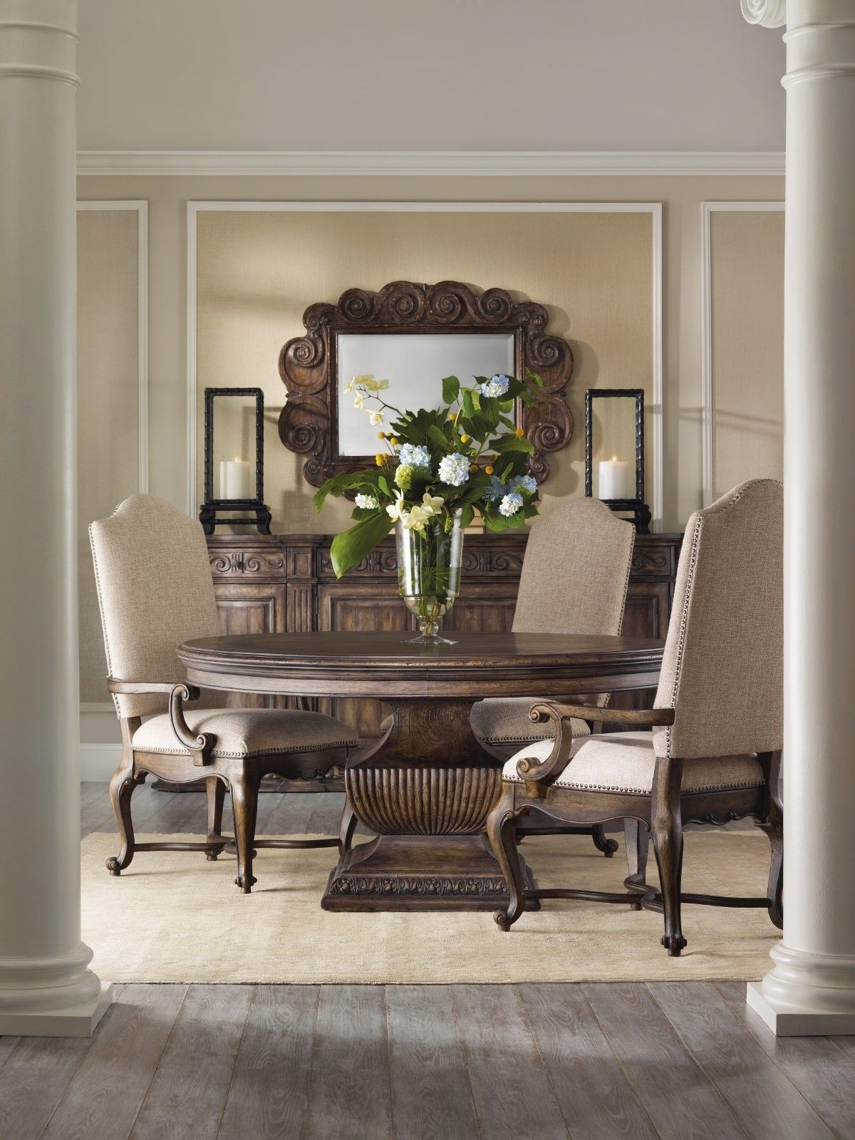 Designer In Valencia 72 Inch 6 Piece Dining Sets (View 4 of 25)
