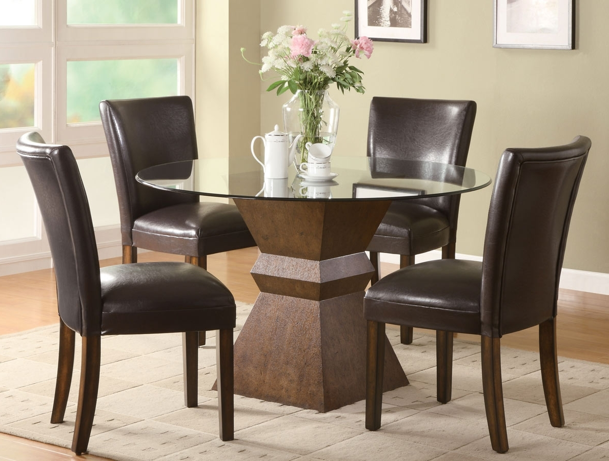 Dimension Large For Round Extendable Ashley Table Pedestal Argos With Regard To Most Recently Released Oak And Glass Dining Tables Sets (View 22 of 25)