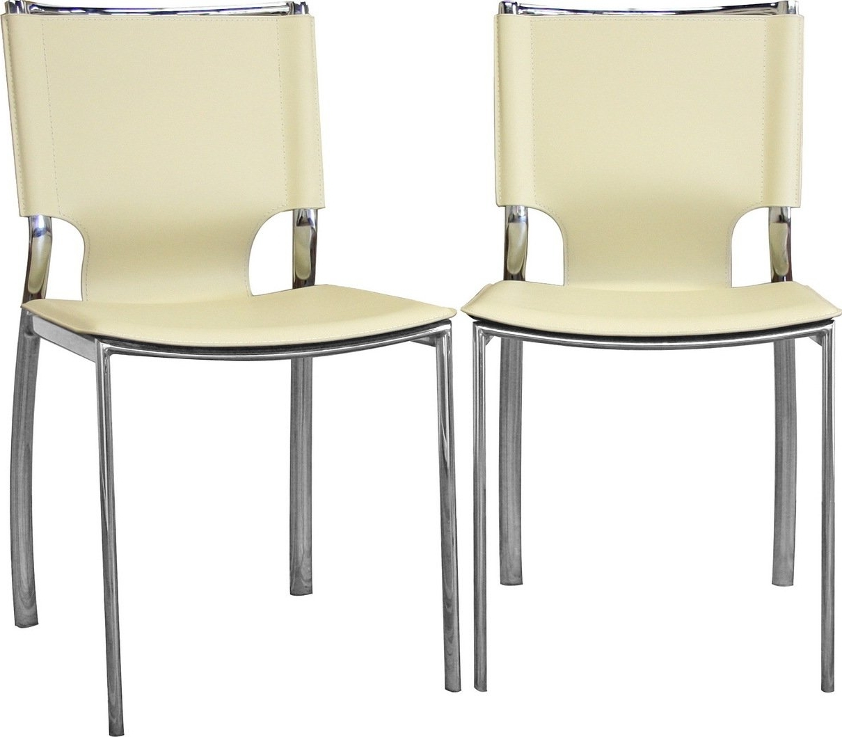 Dining Chairs Design Ideas With Well Known Ivory Leather Dining Chairs (View 18 of 25)