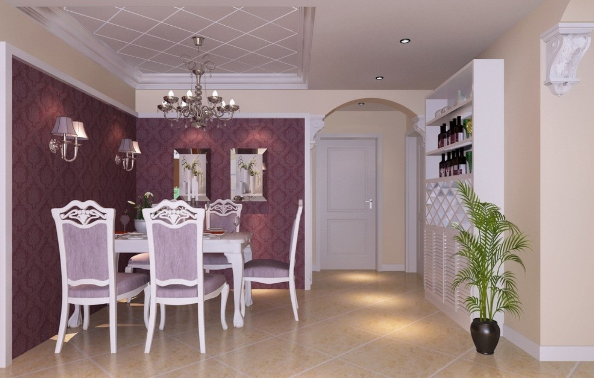 Dining Chairs Design Ideas Within Current Dining Tables And Purple Chairs (View 14 of 25)