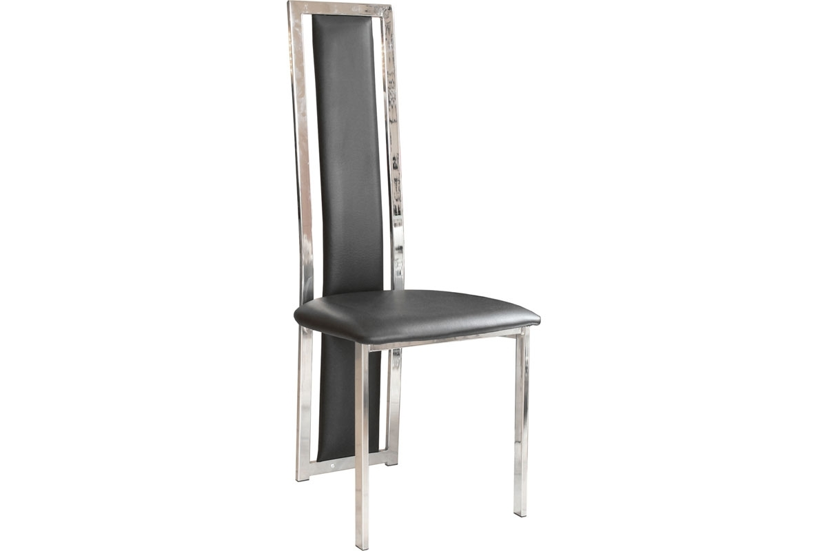 Dining Chairs with regard to High Back Leather Dining Chairs