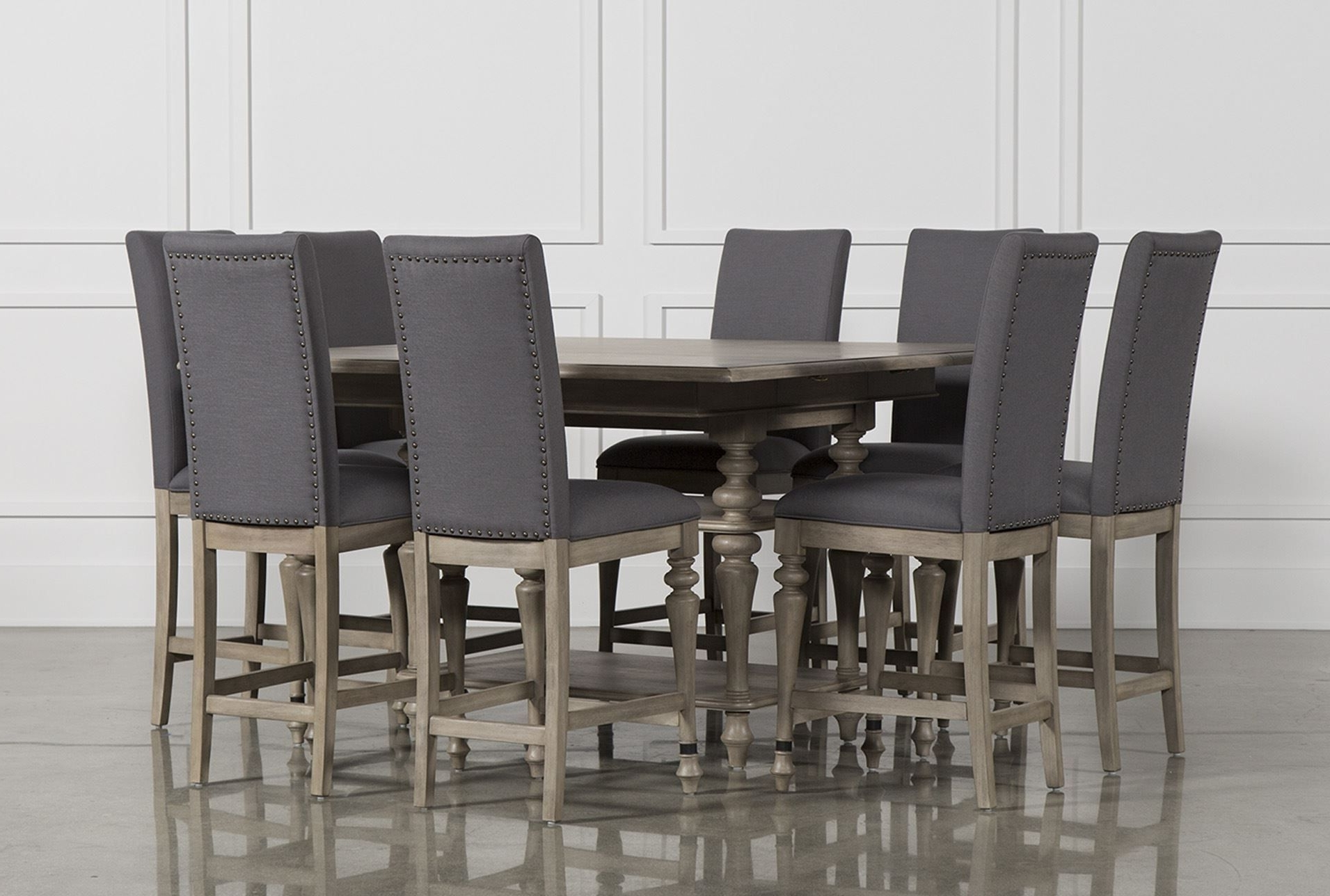 Dining Inside Chapleau Ii 9 Piece Extension Dining Tables With Side Chairs (View 6 of 25)