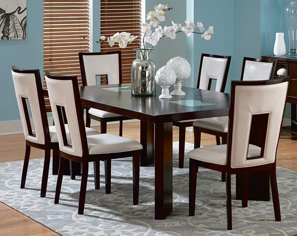 Dining Room Black Dining Room Table Chairs Wood Dining Room regarding Most Current Cheap Dining Room Chairs