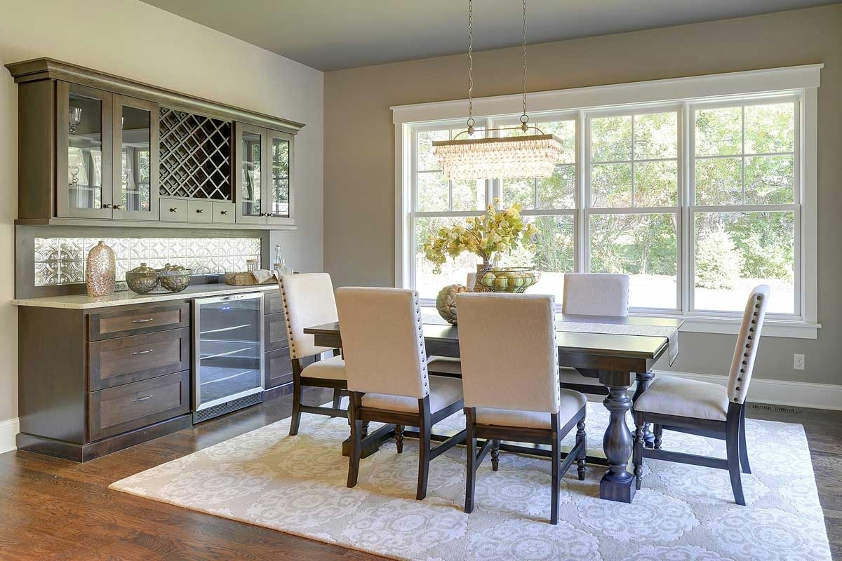 Dining Room Cabinets pertaining to Fashionable Living & Dining Room Cabinets