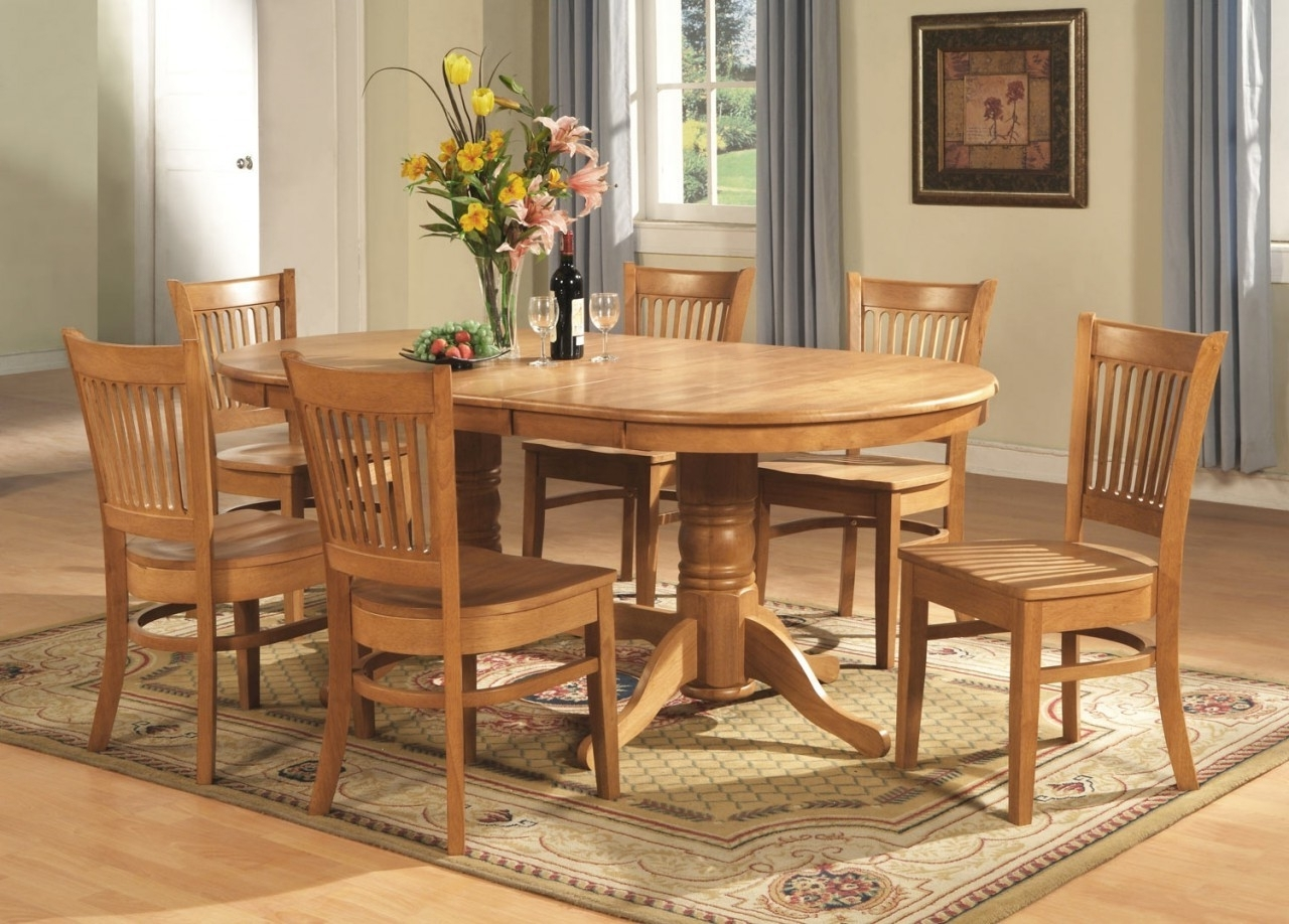 Dining Room Design: Astonishing Oak Dining Room Table Classic Grey pertaining to Trendy Cream And Oak Dining Tables