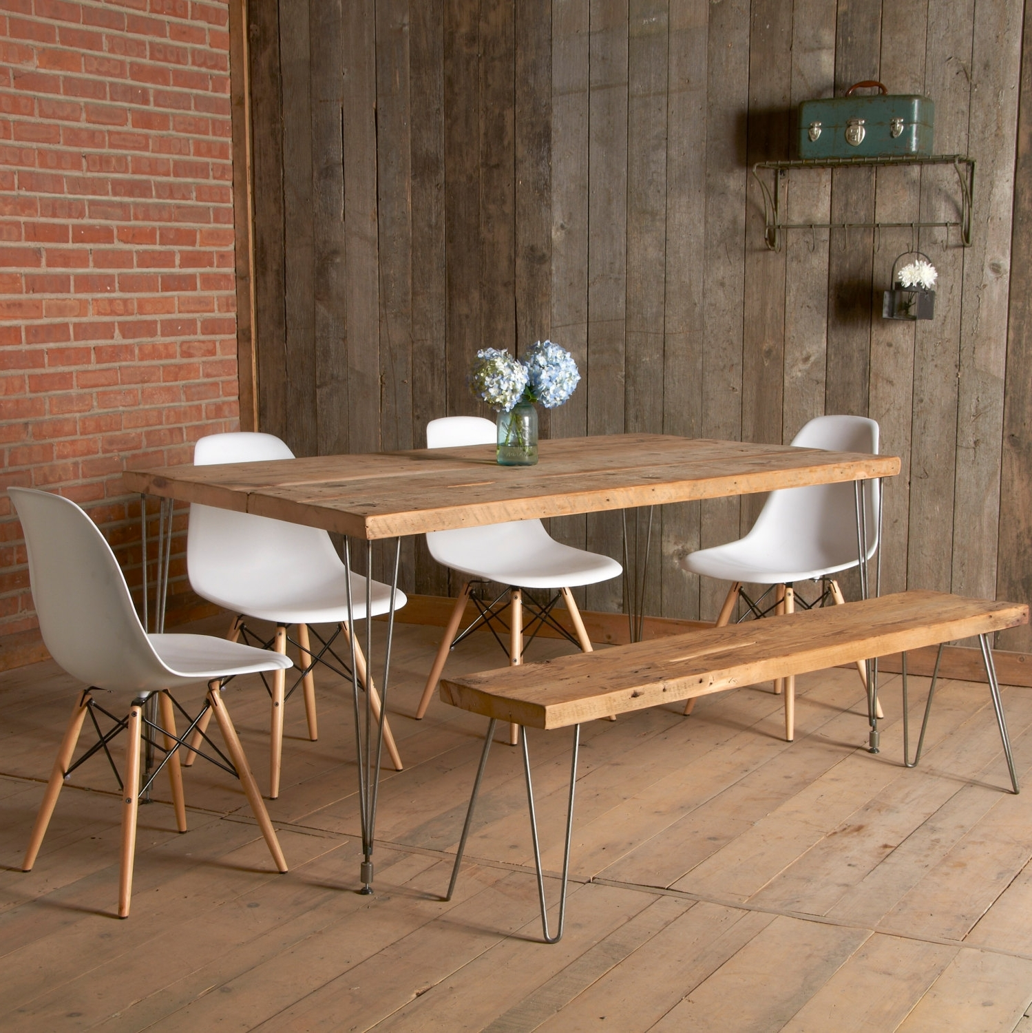 Dining Room Dining Room Table With Bench Seats Table Sets On Best throughout Most Up-to-Date Jaxon 6 Piece Rectangle Dining Sets With Bench & Wood Chairs