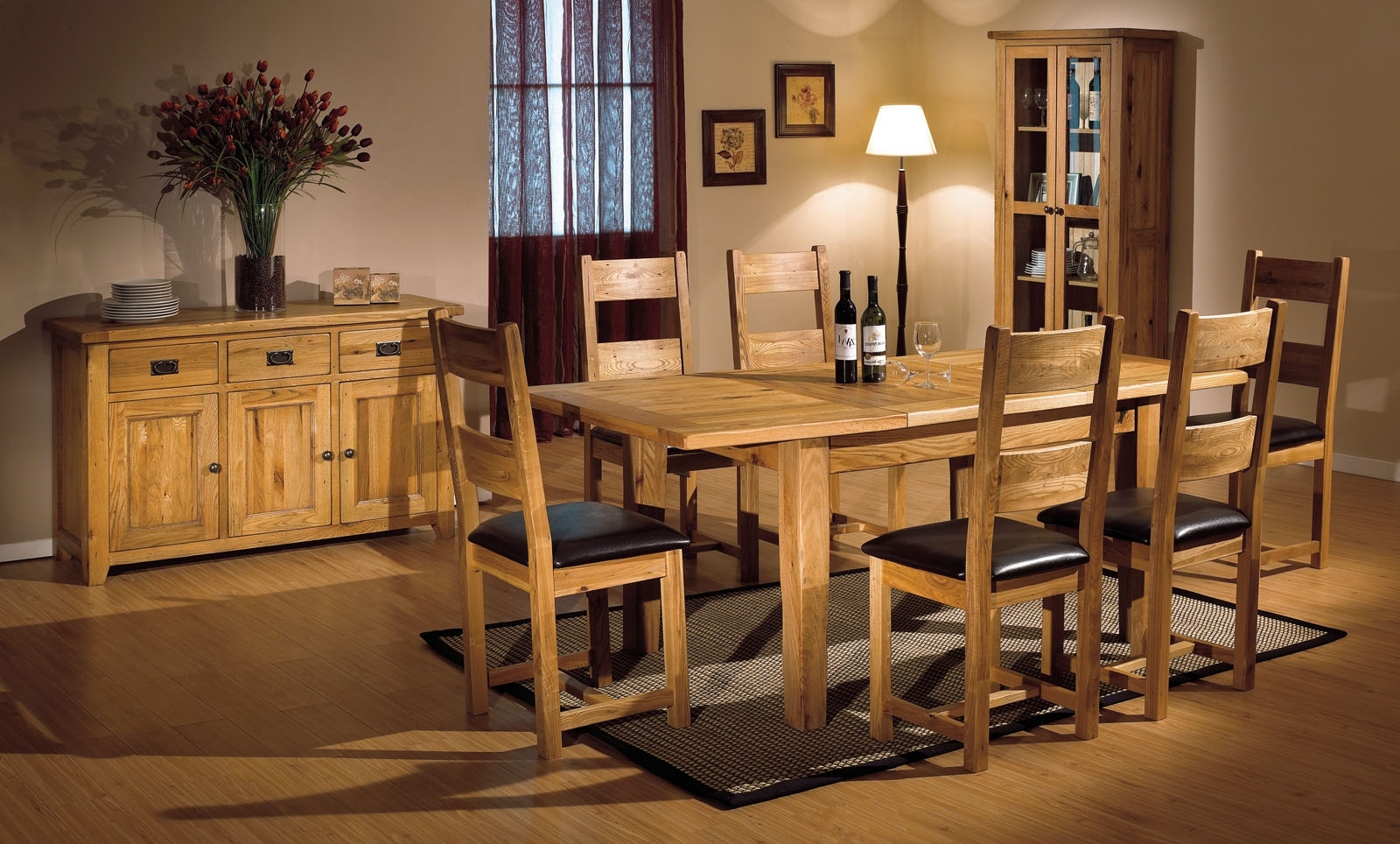 Dining Room Furniture Oak Mesmerizing Small Oak Dining Table With Most Popular Oak Dining Tables And Chairs (Gallery 10 of 25)
