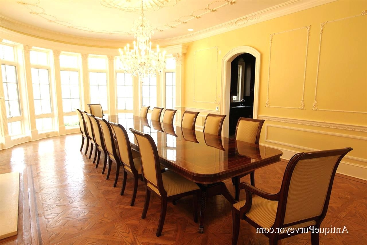 Dining Room Sets For 8 People Large Dining Table Seats People Huge Inside Latest Big Dining Tables For Sale (Gallery 12 of 25)