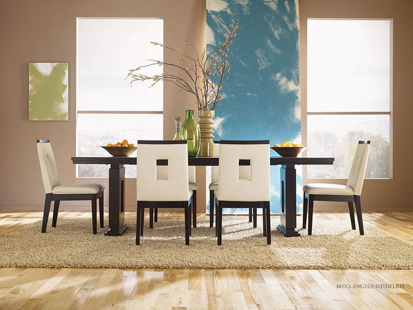 Dining Room Sets With Regard To Trendy Asian Dining Tables (View 13 of 25)