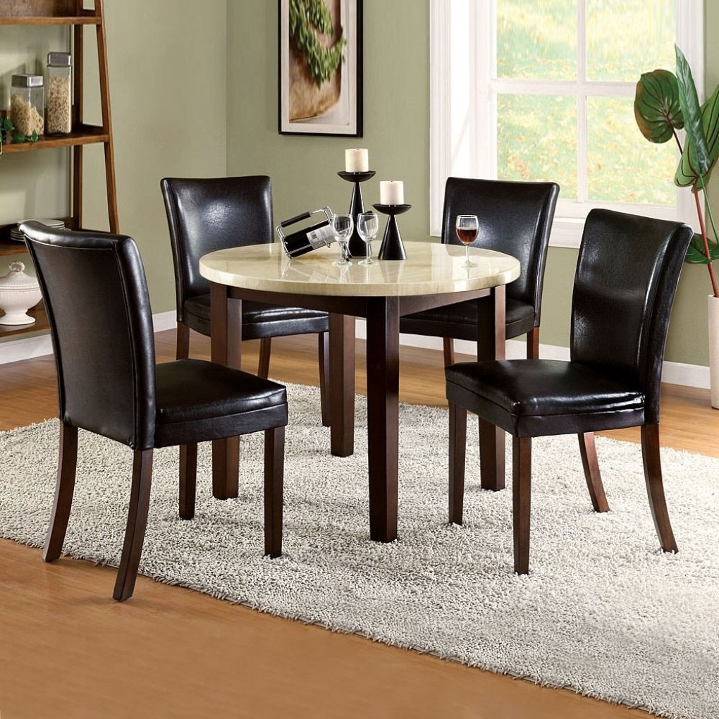 Dining Room Small Dining Table Designs Kitchen Dining Sets For Small pertaining to Preferred Kitchen Dining Sets