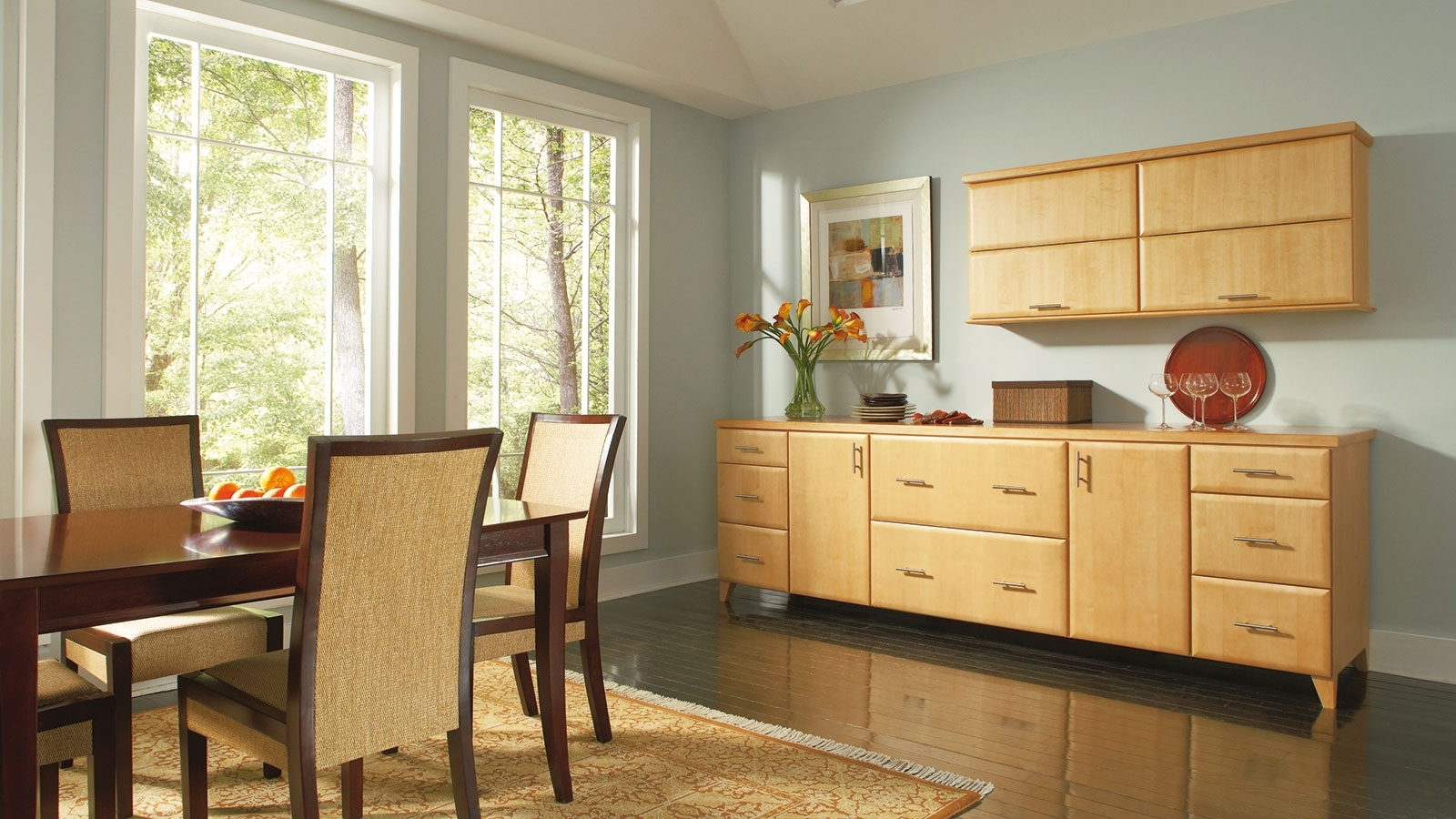 Dining Room Storage Cabinets – Omega Cabinetry With Most Popular Dining Room Cabinets (View 3 of 25)