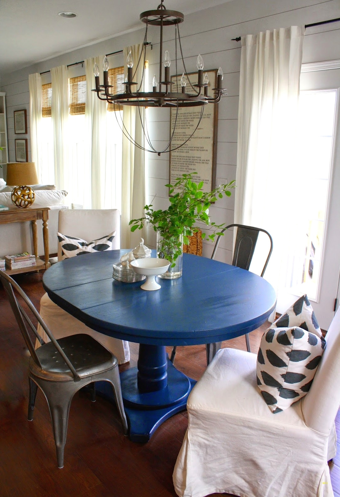 Dining Room Table Plans Inside Blue Dining Tables (Gallery 6 of 25)