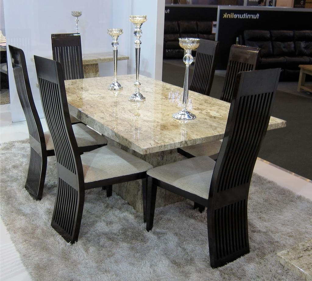 Dining Room Table Sets With Solid Marble Dining Tables (View 9 of 25)