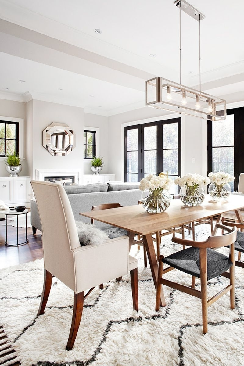 Dining Rooms Pertaining To Lights For Dining Tables (View 7 of 25)