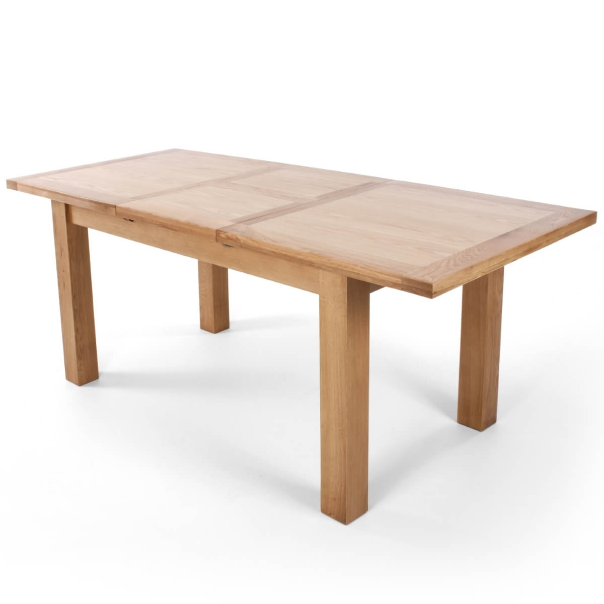 Dining Set - Solid Oak Extending Dining Table And 6 Linea Cream with Most Recent Oak Extending Dining Tables And 6 Chairs