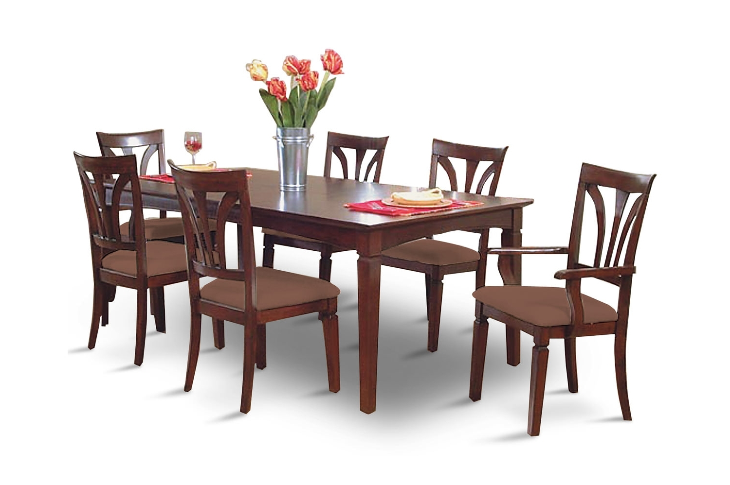 Dining Sets – Kitchen & Dining Room Sets – Hom Furniture Intended For Recent Chapleau Ii 7 Piece Extension Dining Tables With Side Chairs (View 11 of 25)