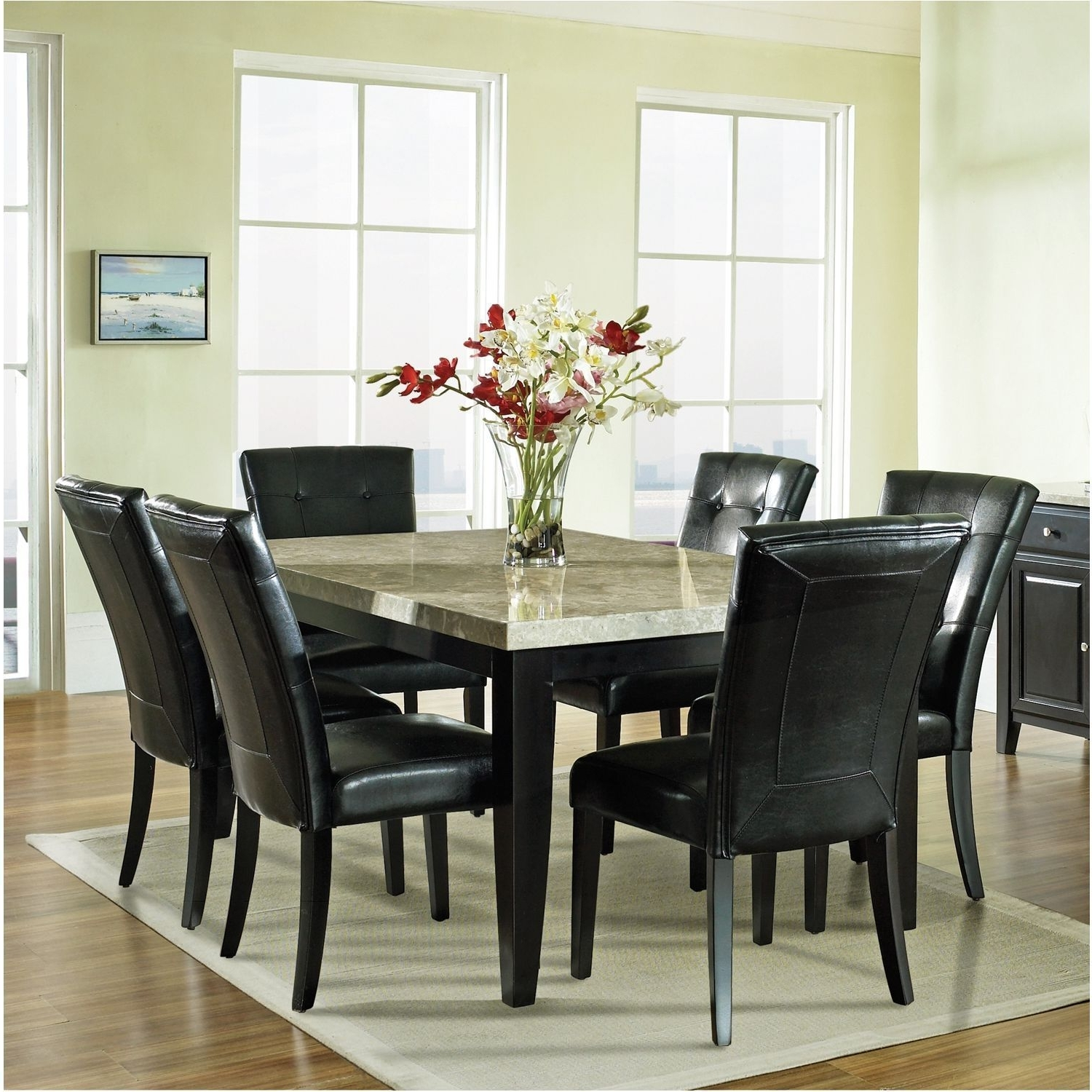 Dining Sets with regard to Cora 7 Piece Dining Sets