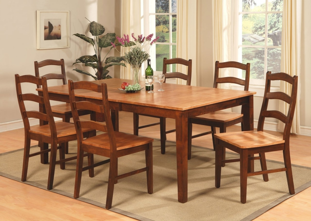 Dining Table 8 Chairs Set - Castrophotos within Popular 8 Seat Dining Tables