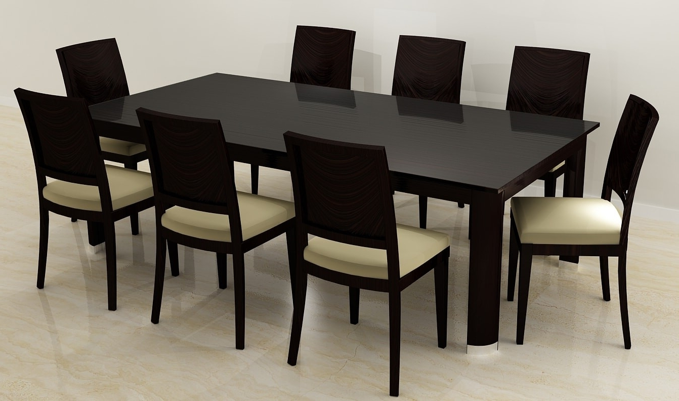 Dining Table 8 Seater – Dining Table For Most Up To Date Dining Tables For  (View 14 of 25)