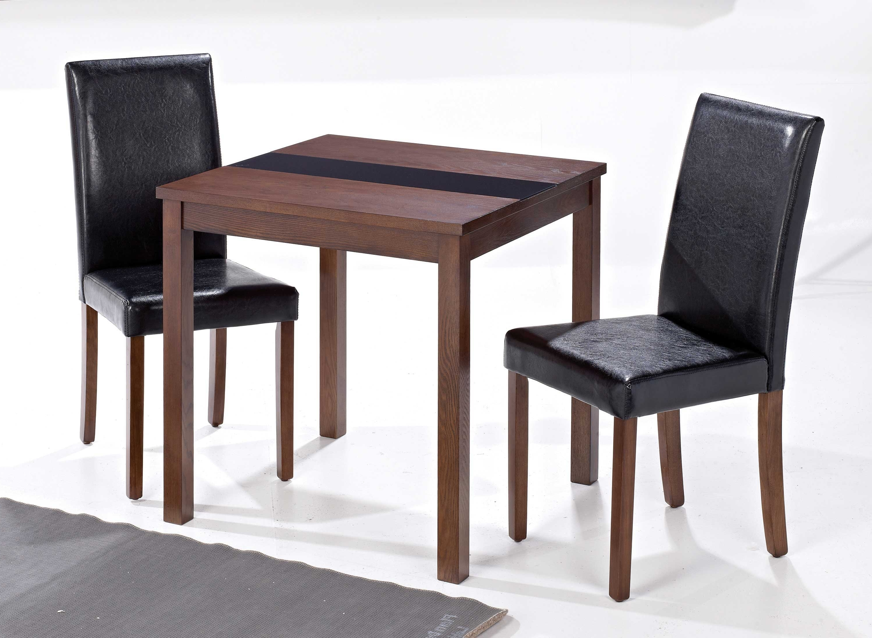 Dining Table Set 2 Seater • Table Setting Design Inside Newest Two Seater Dining Tables And Chairs (Gallery 2 of 25)